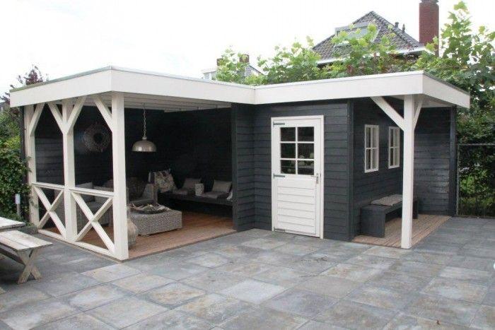 tuinhuis met veranda ijssel 11 afmeting 6 x 7 meter afmetingen 600 m - Garden Sheds With Veranda
