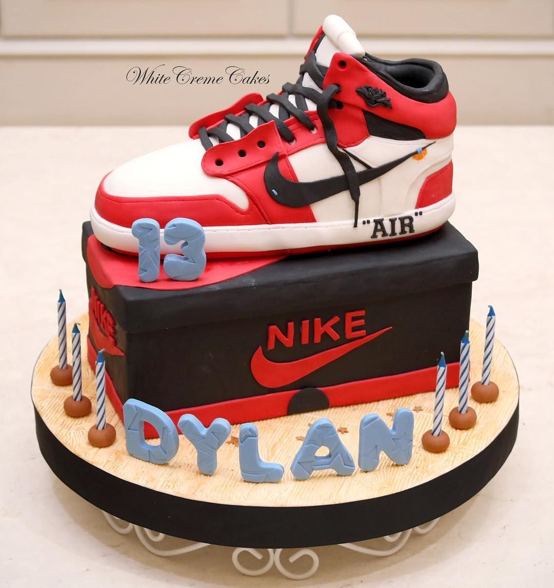 Pin By Stay On Cake With Images Jordan Cake Birthday Cakes