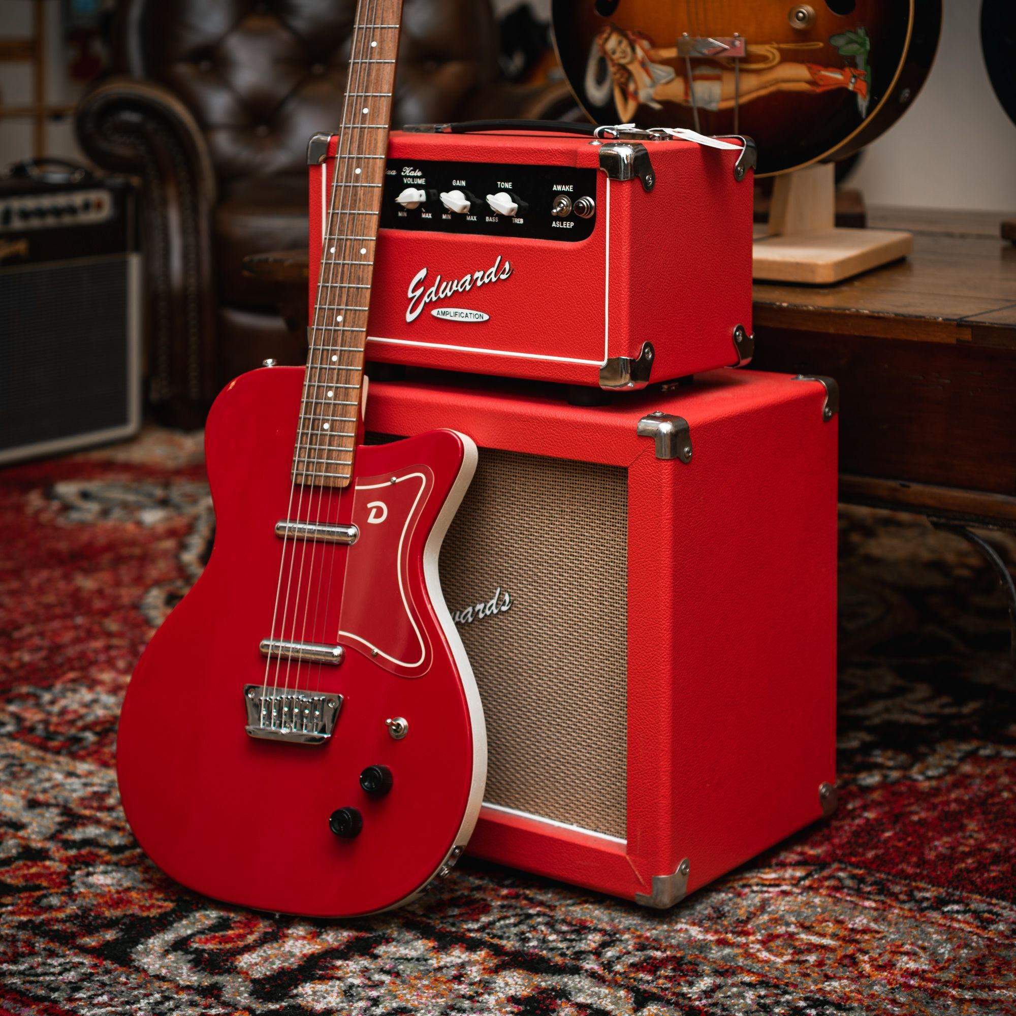 Danelectro '56 Baritone Guitar Red in 2019 | Baritone ...