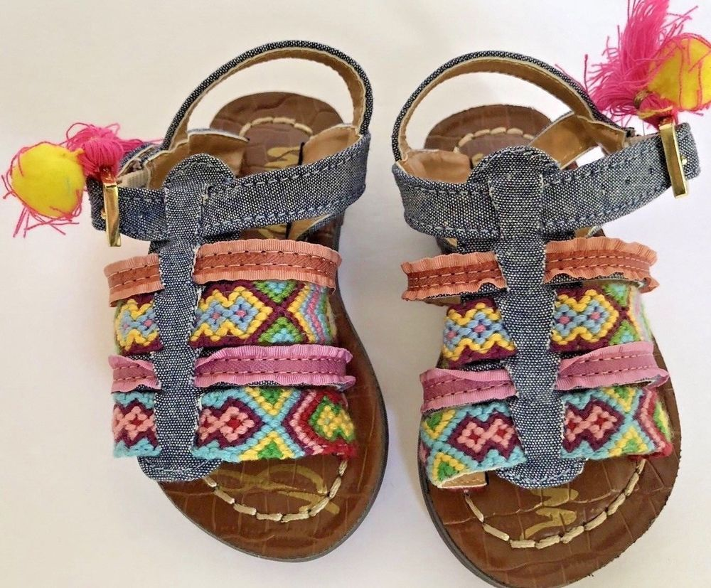 446771d9b058 Sam Edelman Kids Girls Baby Noa Flat- Choose Sz colors Size 5 Shoes Girls