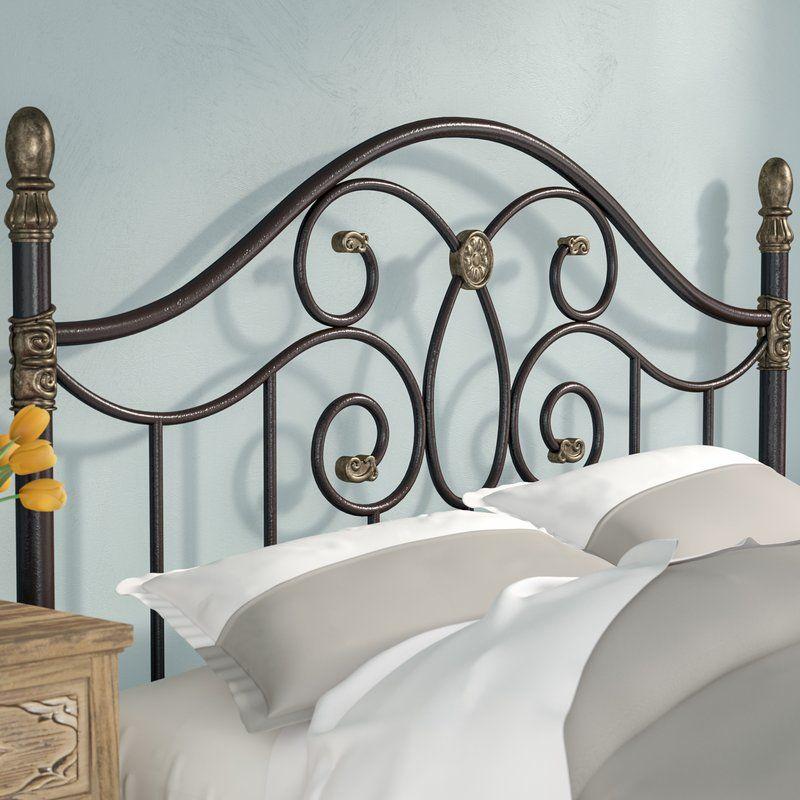 Best Fitz Upholstered Panel Headboard Steel Bed Frame 640 x 480