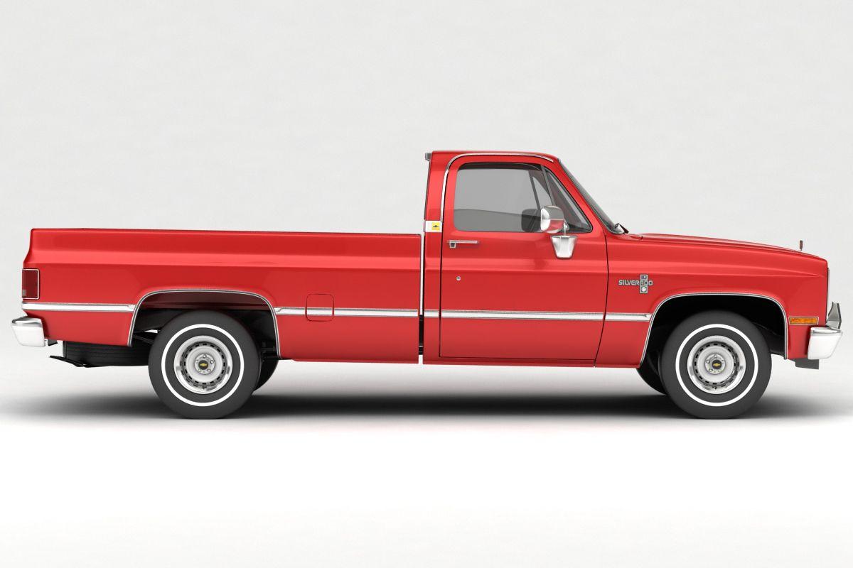 1985 Chevrolet C10 Silverado 2wd 3d Model Suv 279279 Chevrolet