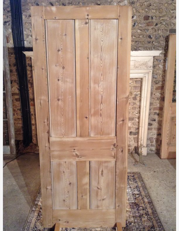 Perfect 690   Solid Pine Victorian Front Or Back Door