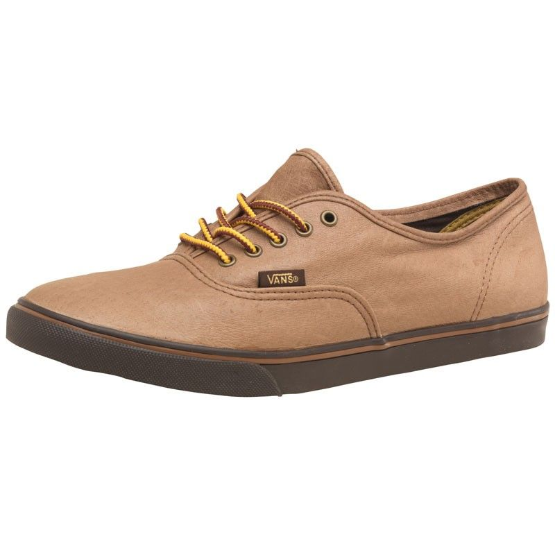 vans low pro leather