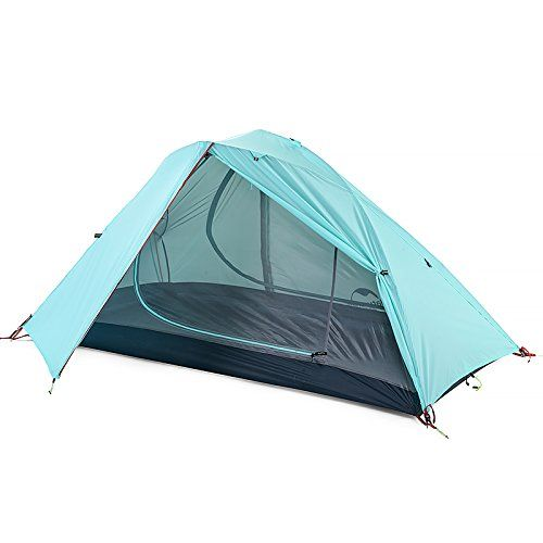 Naturehike 2 Person Hiking Tent 3 Season C&ing Waterproof Tent Double Layer Windproof Tent  sc 1 st  Pinterest : cheap hiking tents - memphite.com