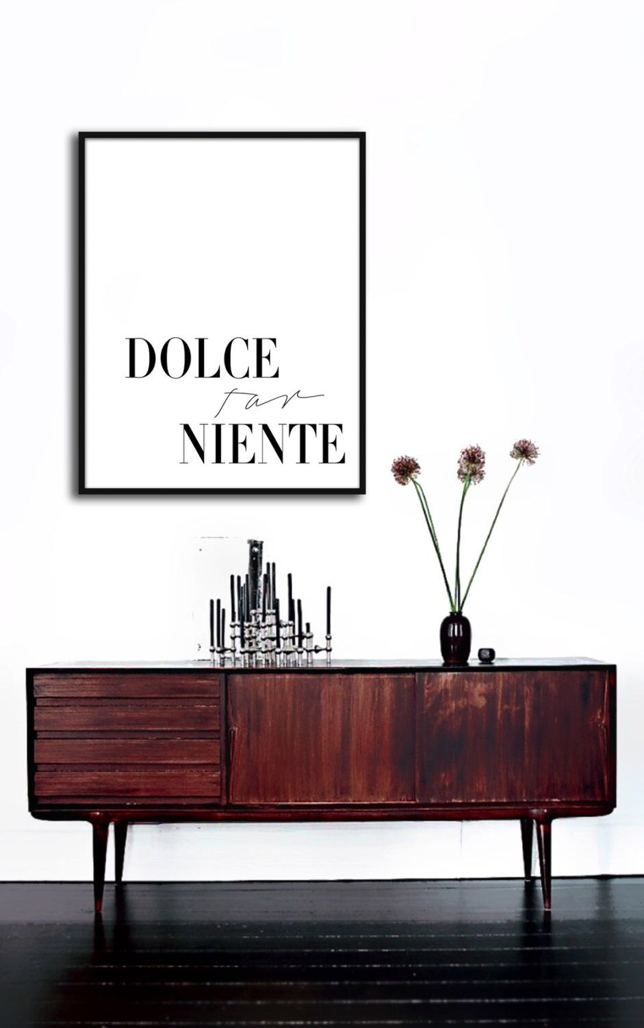 Dolce Far Niente Poster PRINTABLE FILE The sweetness of doing nothing Eat Pray Love
