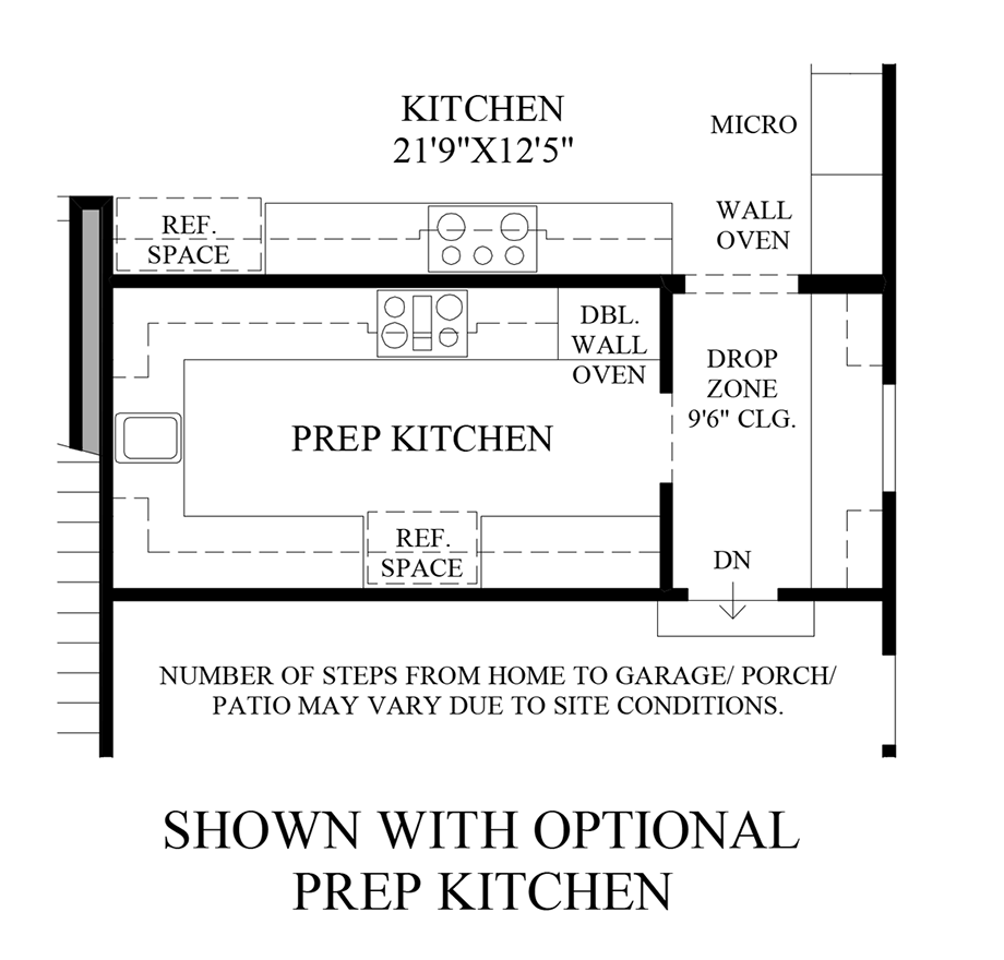 Optional Prep Kitchen Floor Plan B U I L D In 2019 Prep