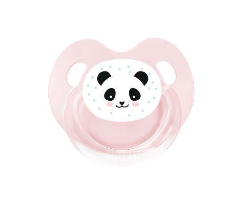 Chupete Retro Rosa Panda