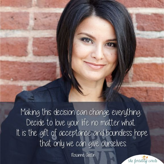 3 Tips/Strategies for Living Your Fertility Journey With Confidence - The Fertility Circle with Rosanne Austin