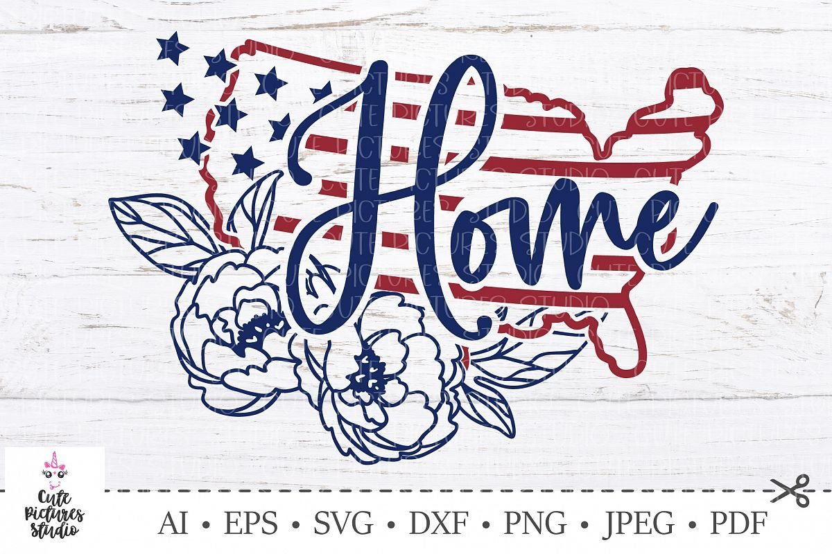 American flag svg. USA Independence Day. America maps svg