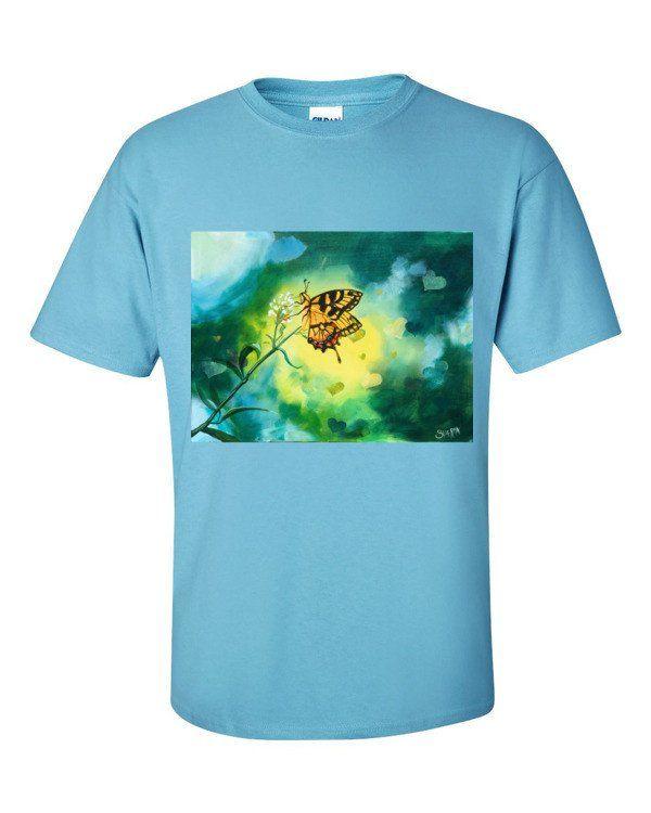 Bokeh Butteful Short sleeve t-shirt