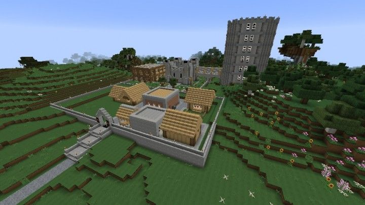 Image result for minecraft small town random video game stuff small - Planetminecraft com ...