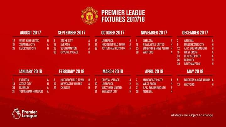 Pin By Gerhard Julies On Man Untd Official Manchester United Website Manchester United Football Club Premier League Fixtures