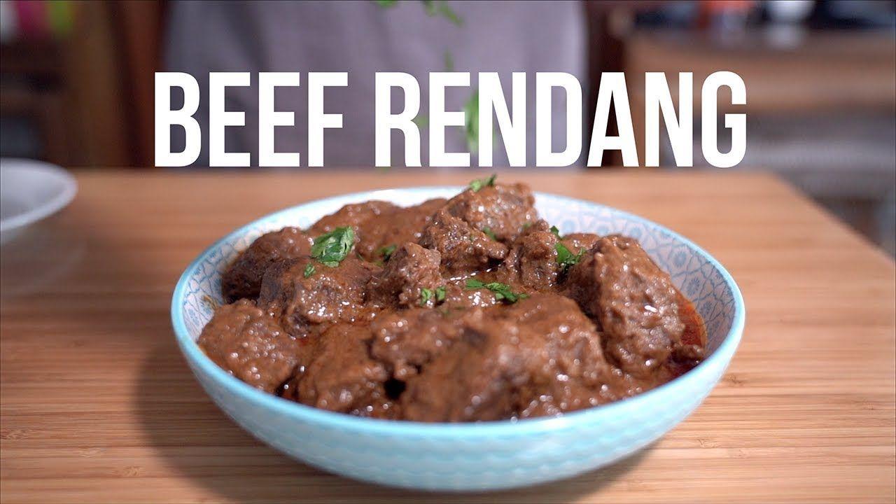 Beef Rendang Shortcut Recipe Instant Pot Beef Instant Pot