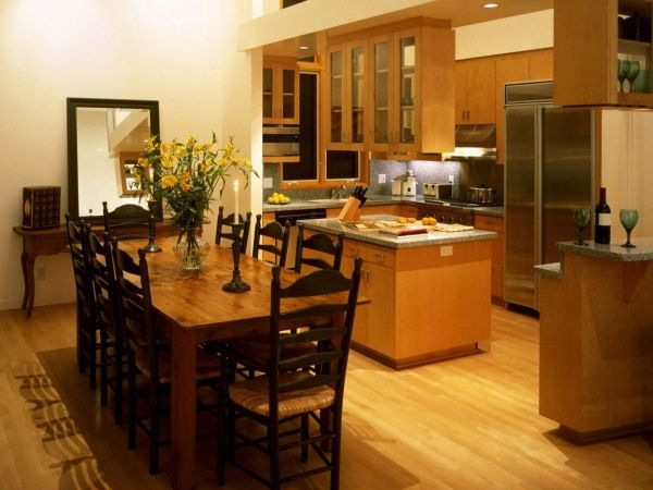 Combined Kitchen And Dining Room Design Ideas Small Kitchen Fascinating Dining Room With Kitchen Designs Design Ideas