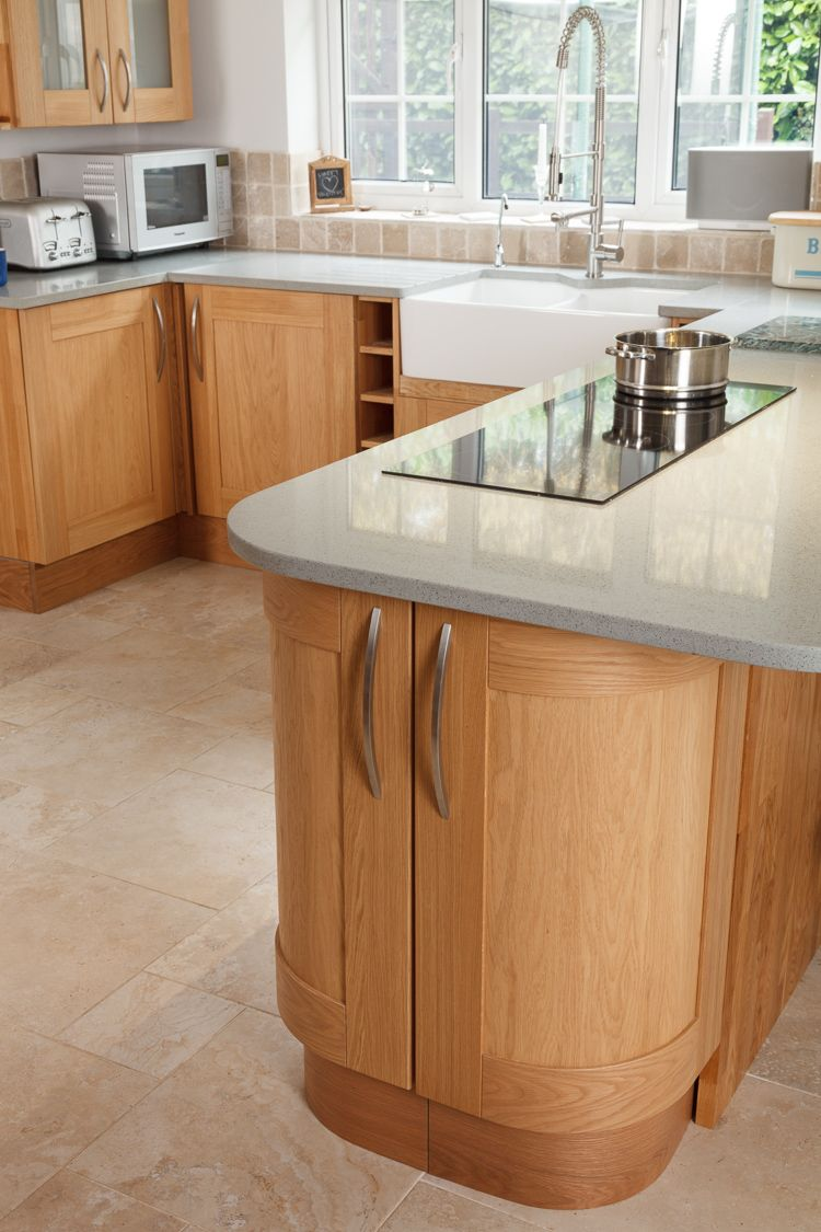 Kitchen Islands with Breakfast Bar | Curved breakfast bar with ...