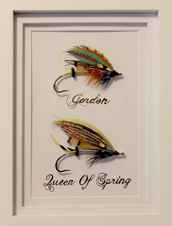 Two Framed Hand Tied Classic Atlantic Full Dress Salmon Flies 7x9 Salmon Flies Fly Tying Fly Fishing Lures