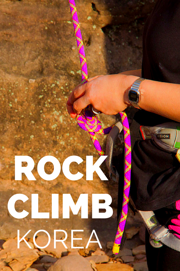 Ladies who climb! Rock climbing in Korea with some bad ass women and rock climbers.