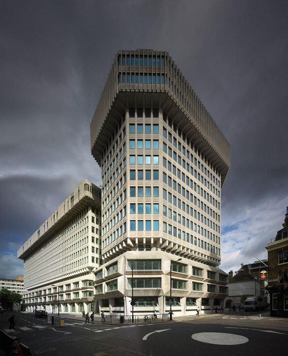 The old Home Office, by Basil Spence: Petty France, Westminster. | O ...