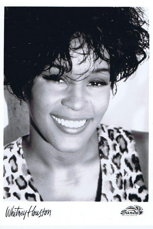 whitney black white. Wonderful White Whitney Houston In Black White N
