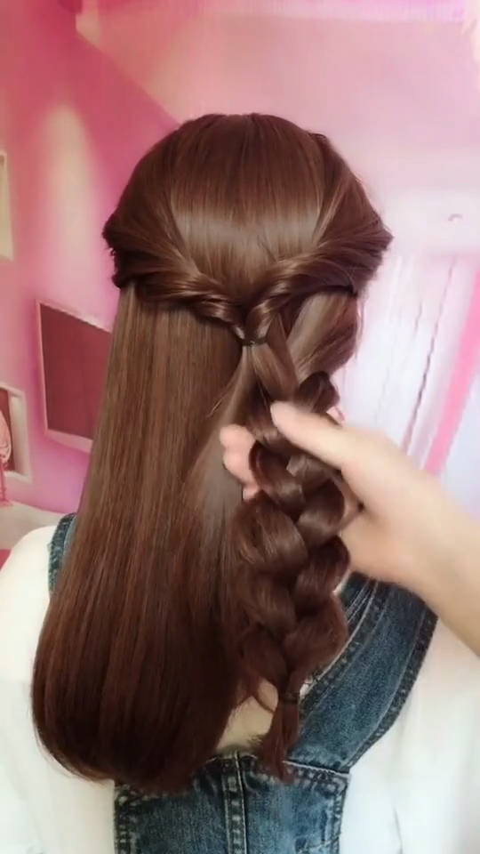 How to Braid? 20 Braid Hairstyles Tutorials in 2019 -   18 hairstyles DIY videos ideas