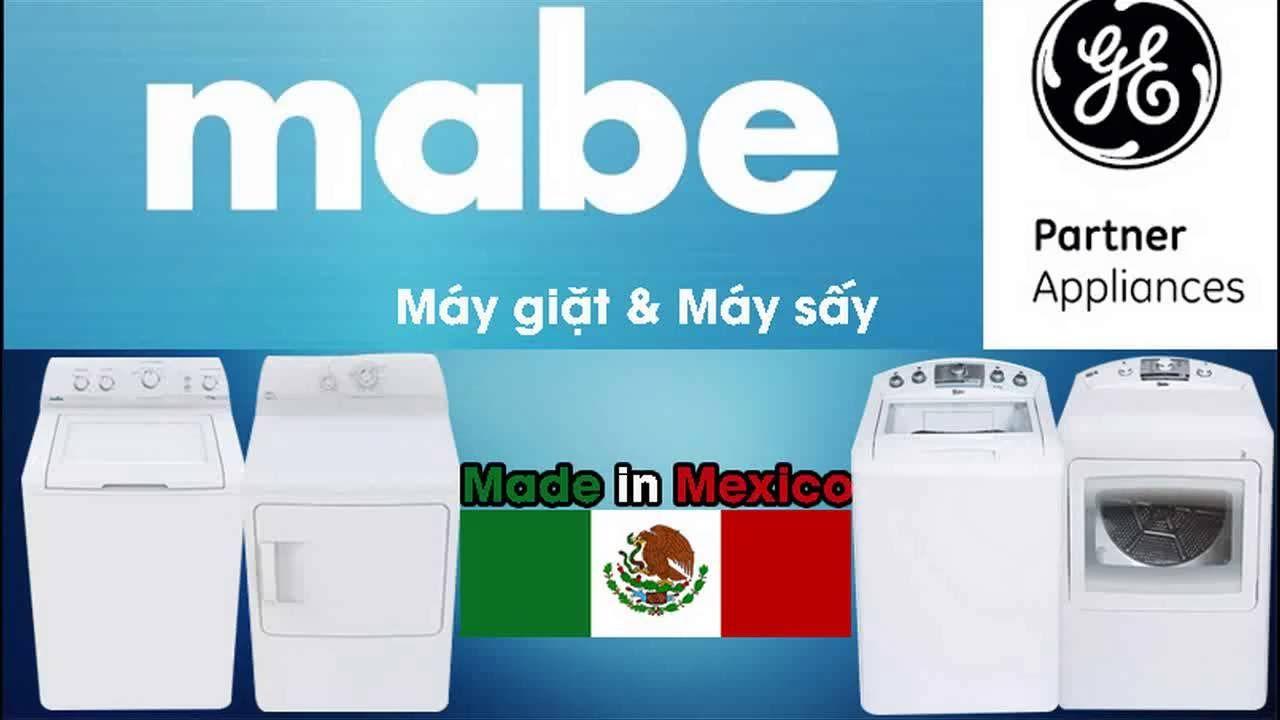 Máy giặt máy sấy quần áo Mabe-Ge