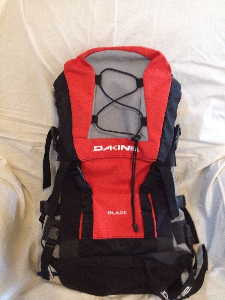 Dakine Blade Backpack Red Black Gray Snowboard Pack | Backpacks ...