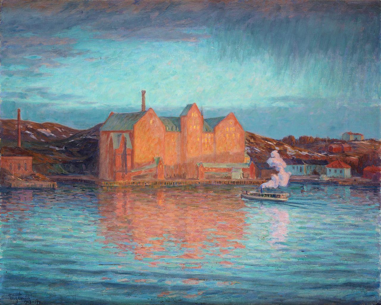 Prins Eugen   Saltsjö Mill, 1907