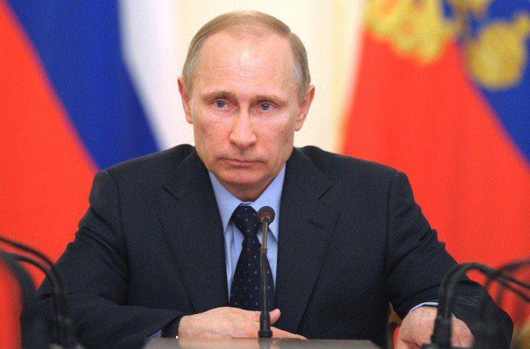 Russian President Vladimir Putin heads the Cabinet meeting at the Novo-Ogaryovo…