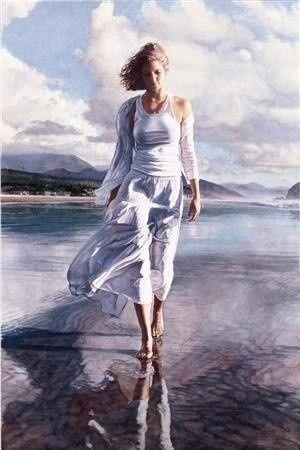 Pintura de Steve Hanks