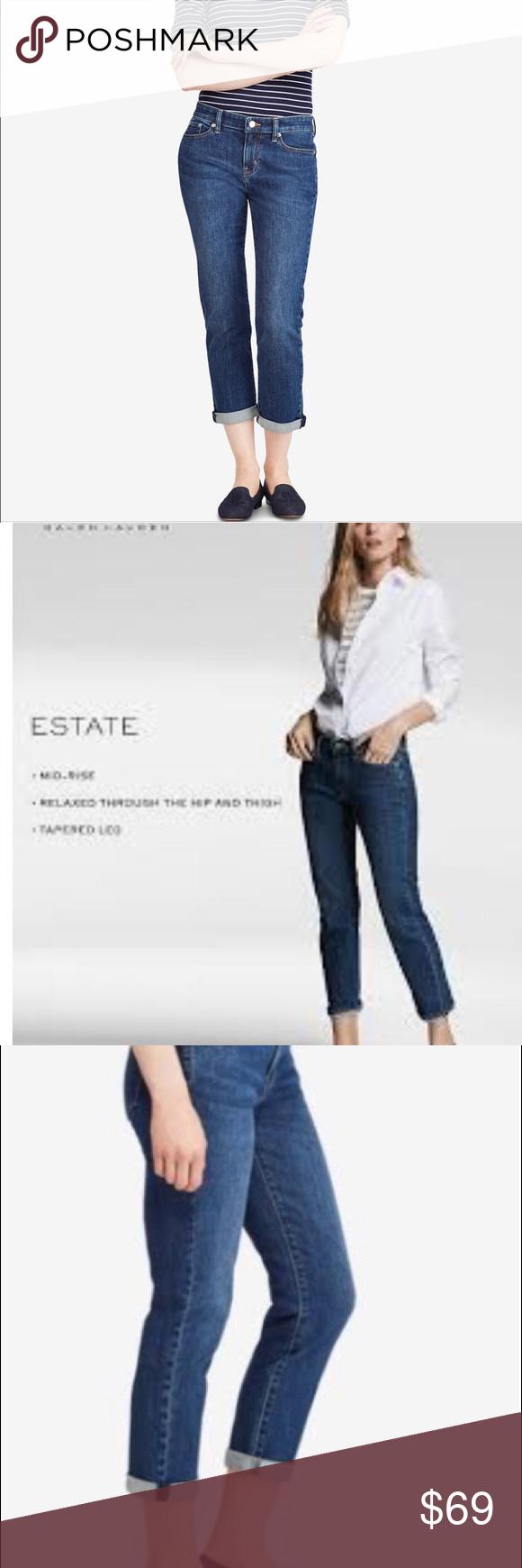 a6c4a93900 🍎25% off🍎Ralph Lauren premiere Estate crop Jean • All sizes ...