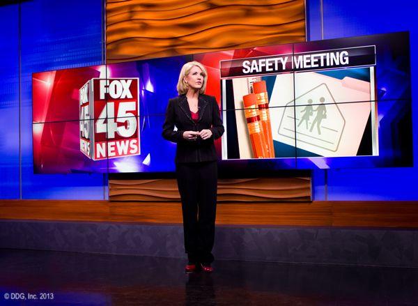 Devlin Design Group News Set Design Tv Videos New Set Fox 45 News