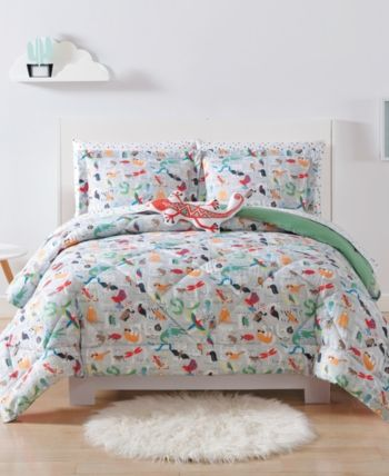 Laura Hart Kids Animal Alphabet Twin Twin Xl 2 Pc Comforter Set