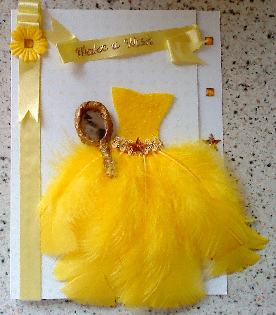Belle Dress Card!