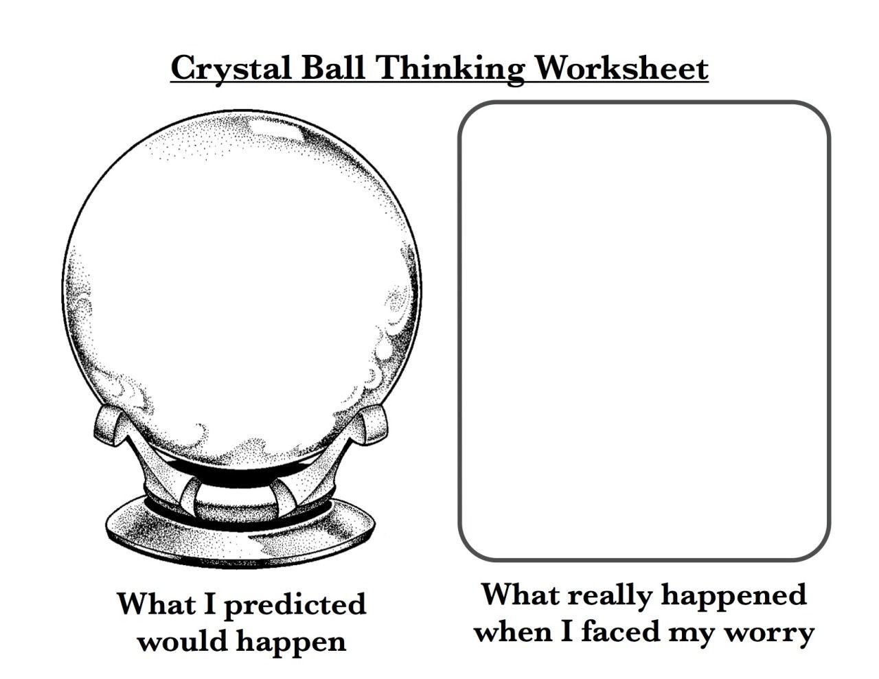 Crystal Ball Thinking