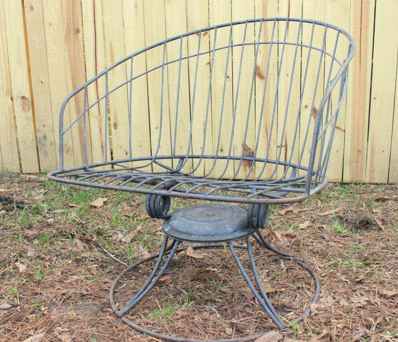 Modern Lawn Chair Outdoor Paitio Furniture Homecrest Wire