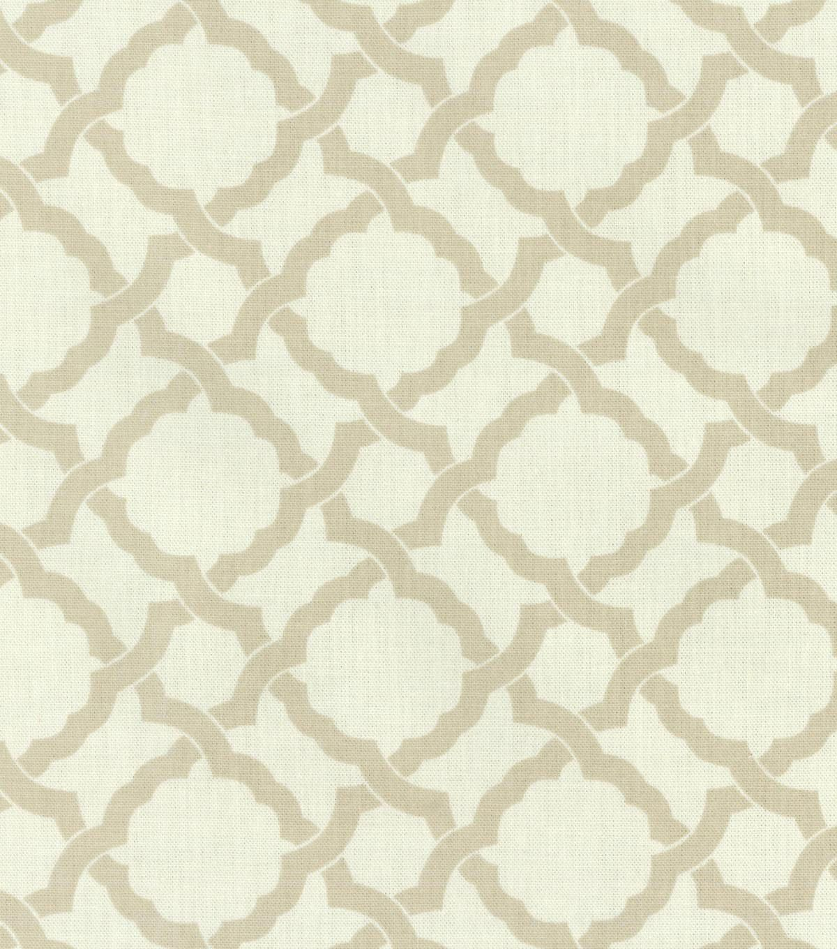 "Home Decor 8""x8"" Swatch Fabric Waverly Kent Crossing Linen"