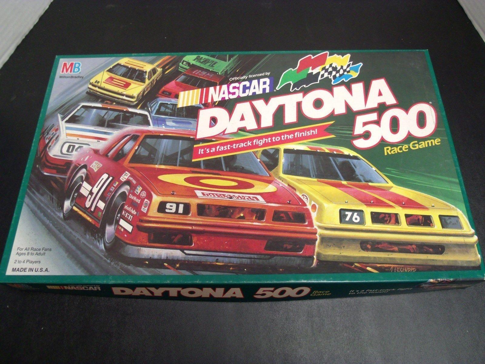 Vintage Nascar Daytona 500 Race Game Nascar daytona 500