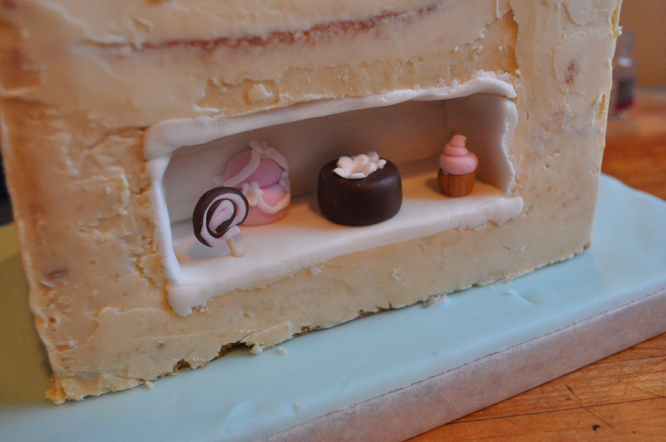 Negozio Cake Design Genova : Una torta nella torta! Un opera di cake design che ...