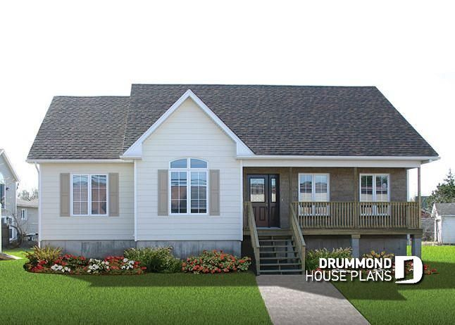 house plan Avram 3 No. 2185V2 Bungalow house plans