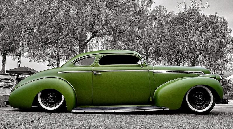 1940 Chevy, chopped & low. Vey kool!