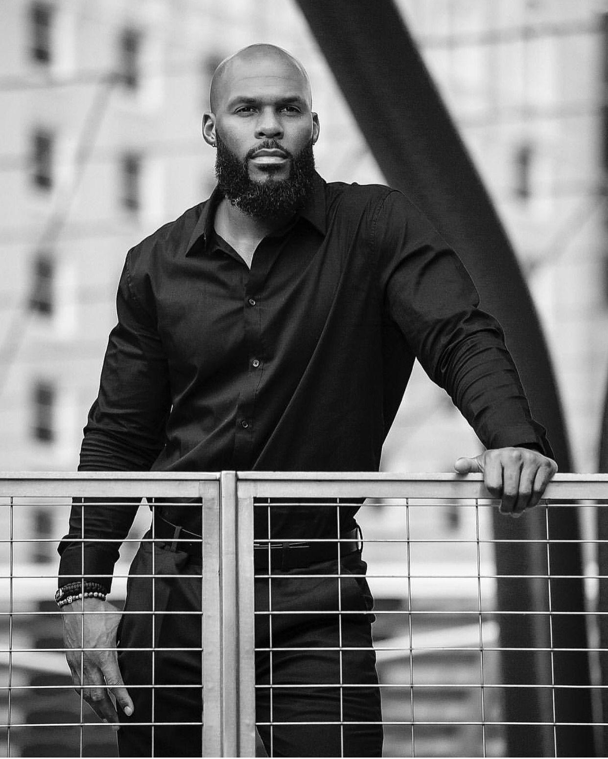 Pin On Black Men With Beards