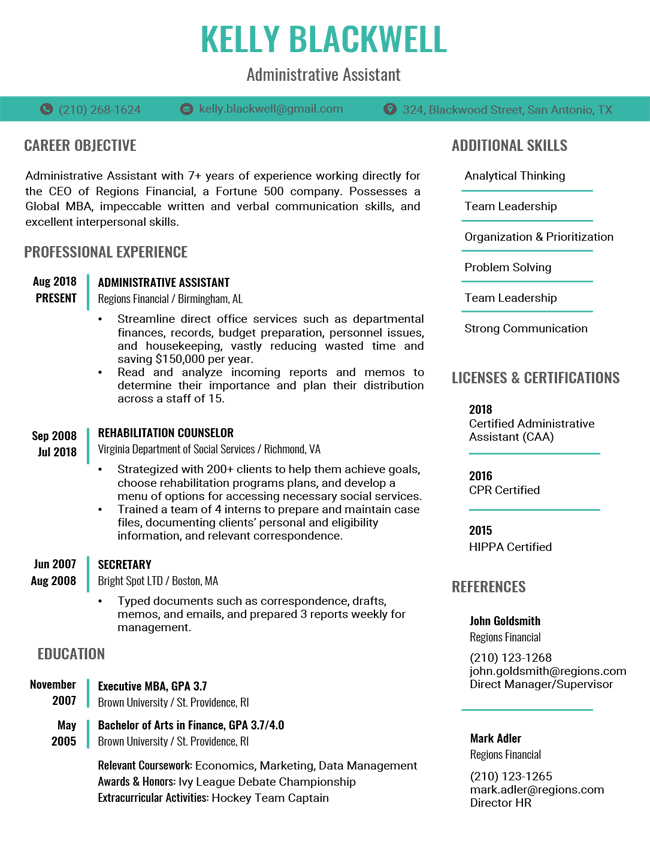 Pin by Dana Cramer on Resume in 2020 Resume templates