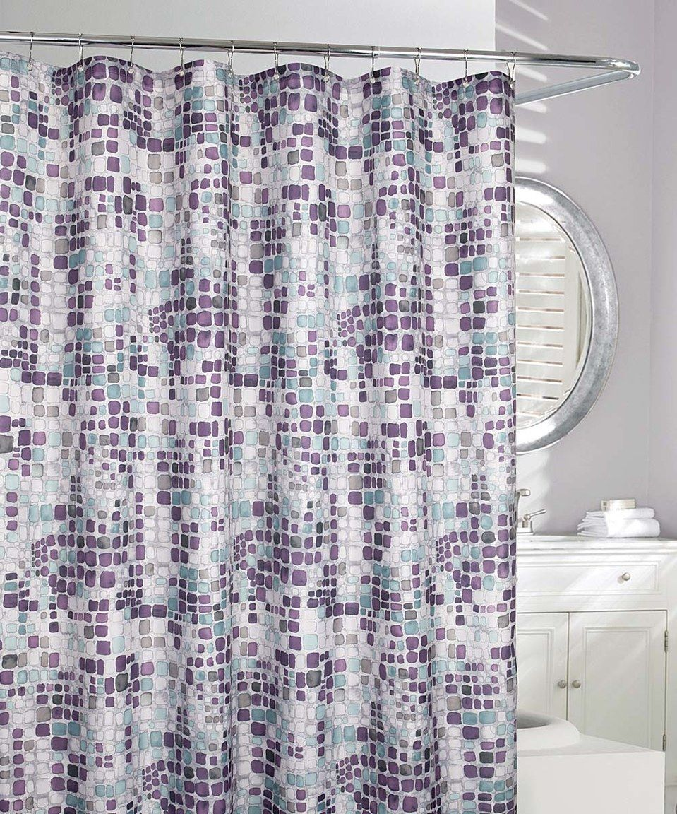 Look What I Found On Zulily Gray Purple Seurat Shower Curtain