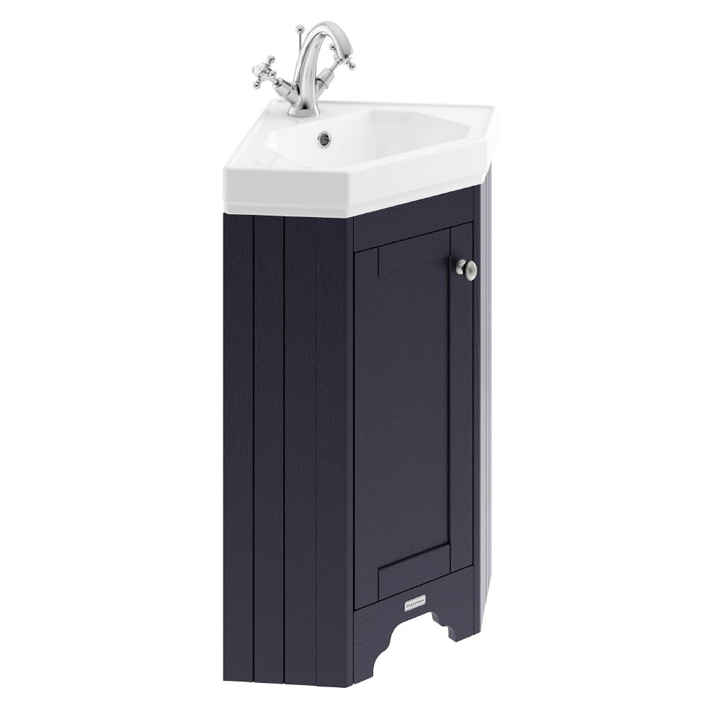 Hudson Reed Old London Floor Standing Corner Vanity Unit With