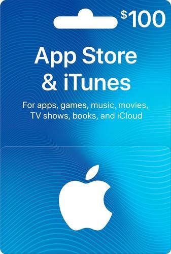 Photo of Apple – $100 App Store & iTunes Gift Card