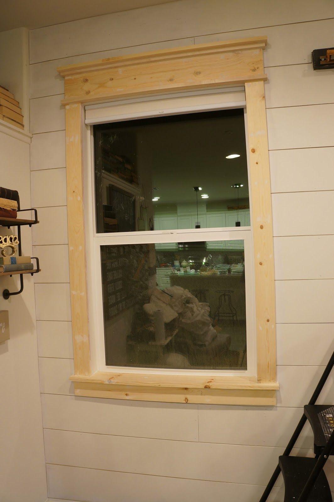 Create A Farmhouse Window Farmhouse Window Trim Window Trim Exterior Interior Window Trim