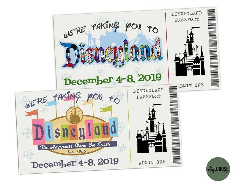 Editable Disneyland Gift Card Disneyland Disneyworld Etsy In 2021 Disneyland Gift Card Disneyland Gifts Disneyland Birthday