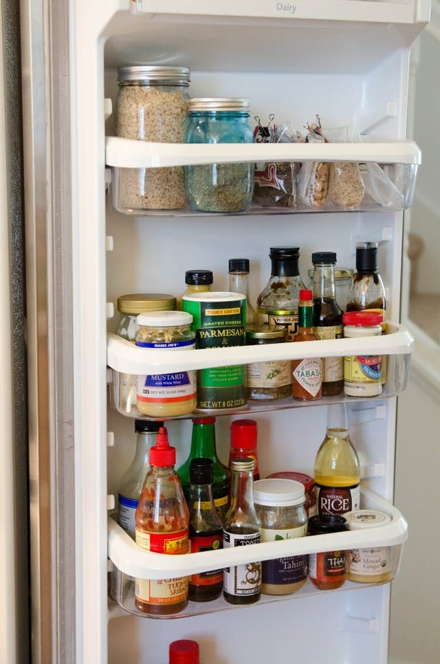 The Best Way to Organize Your Refrigerator is part of Fridge Organization Inside Refrigerator - Does it really matter where things go in there  It does!