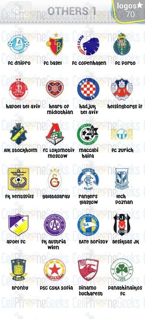 Molto Level 1 – Logo Quiz Football Clubs England Answers | Logo Quiz  UD18